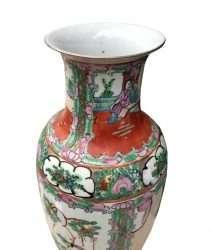 'Qing Dynasty' elongated vase