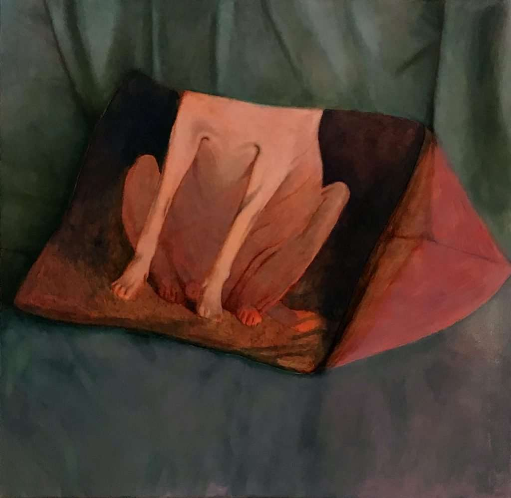 Rest Oil on Canvas 150 x 160 cm copy