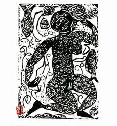 Gyomon-hi No Saku (angels(A)) by Shikō Munakata